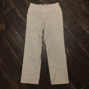 Tommy Hilfiger White Flat Front Pants Sz 31x32